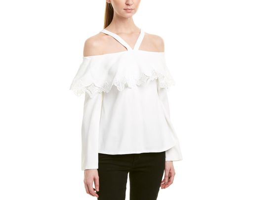 4a1f722d1fc02b Lyst - Jonathan Simkhai Johnathan Simkhai Off-the-shoulder Top in ...