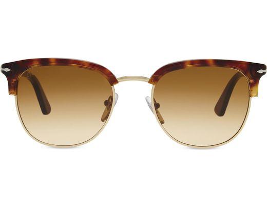 13d8420a4b03f Persol. Women s White Po3105s Vintage Celebration Round-frame Sunglasses