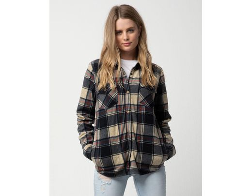 804094bd2 O'neill Sportswear Zuma Superfleece Womens Flannel Shirt - Lyst