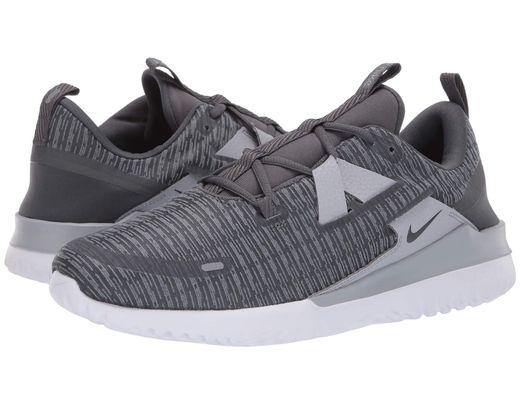 80e58e71c24d Nike. Gray Renew Arena (thunder Grey pure Platinum white) Men s Running  Shoes
