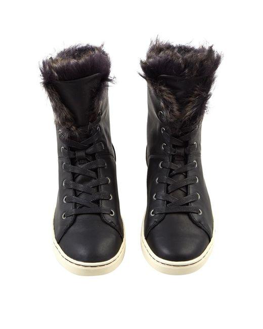 Ugg   Black Croft High-top Sneaker   Lyst