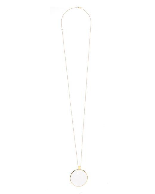 DINA KAMAL DK01 | Yellow-Gold Loupe Necklace | Lyst