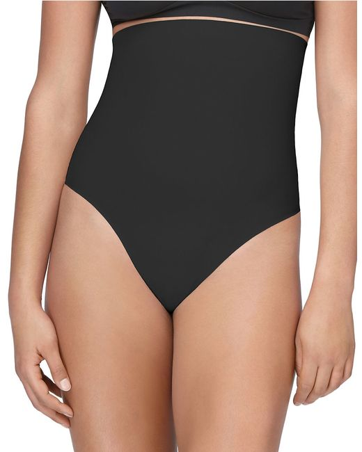Yummie By Heather Thomson | Black High-waisted Thong Shaper | Lyst