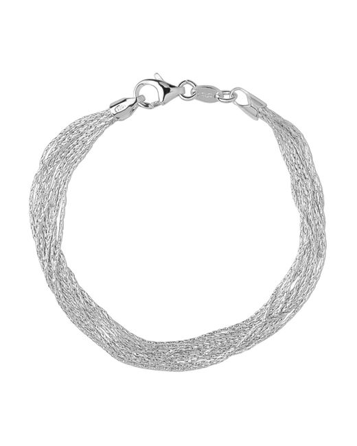 Links of London | Metallic Silk 10 Row Bracelet- Size S | Lyst