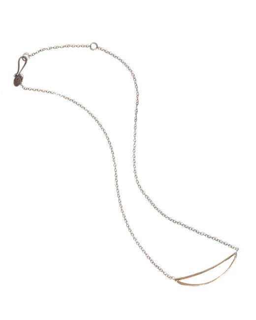 Melissa Joy Manning | Metallic Smile Necklace | Lyst