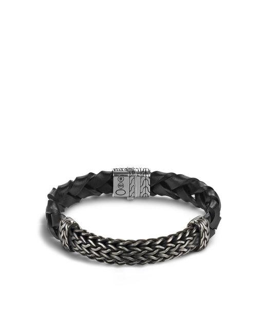 John Hardy | Black Classic Chain Station Bracelet for Men | Lyst