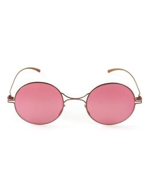 Mykita  Pink Round Glasses  Lyst