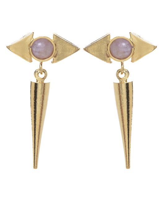 Jill Golden | Metallic Reflection Spike Earring | Lyst