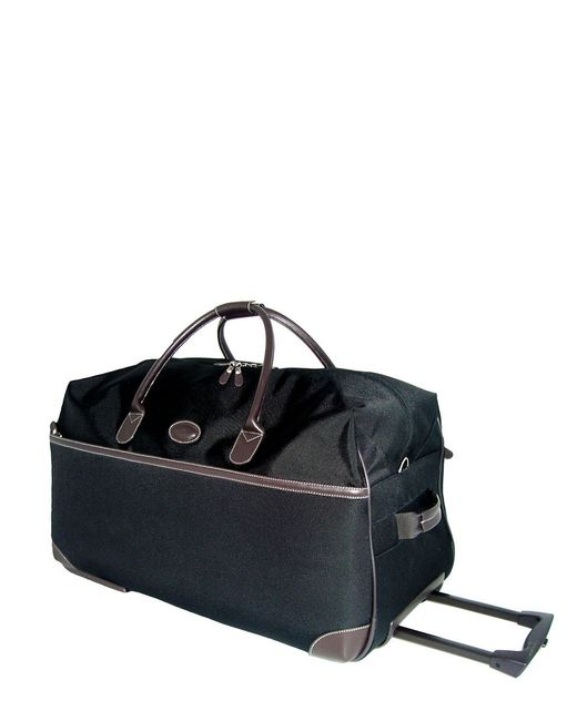 Bric's | Black Pronto 21 Inch Rolling Duffel Bag for Men | Lyst