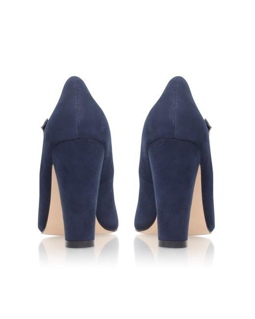 Carvela Kurt Geiger   Blue Karol High Heel Court Shoes   Lyst