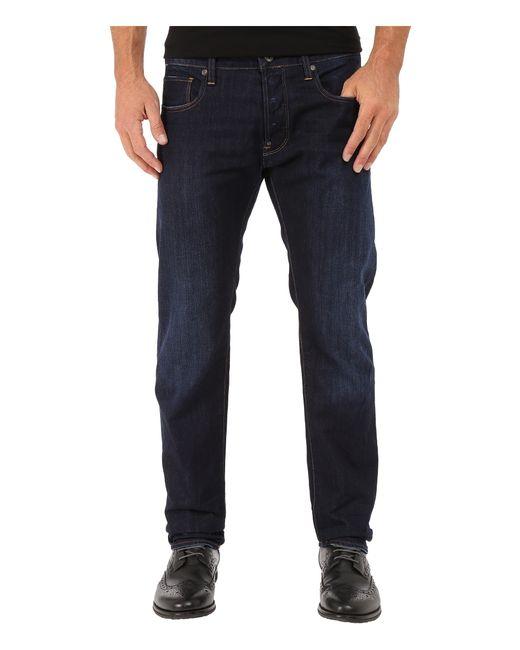 g star raw attacc slim straight jeans in hadron denim dark. Black Bedroom Furniture Sets. Home Design Ideas