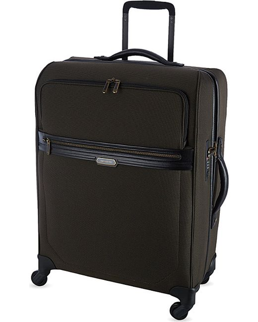 Samsonite | Brown Lite-biz Four-wheel Cabin Suitcase 55cm for Men | Lyst
