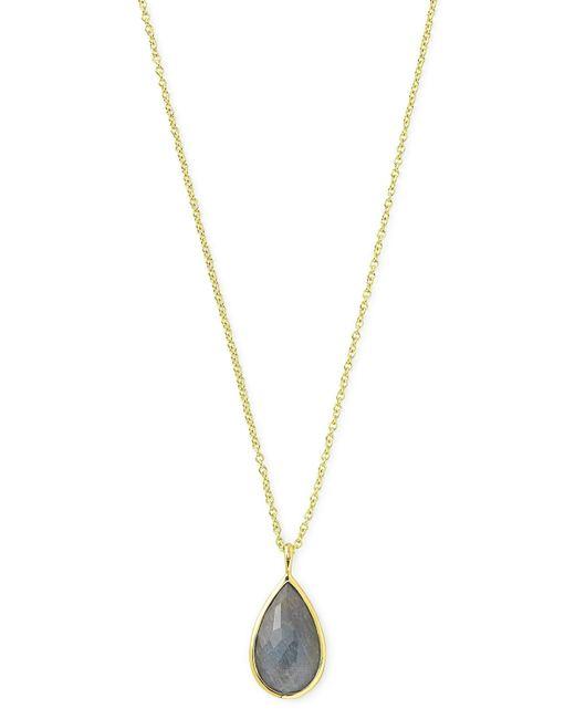 Ippolita | Metallic 18k Rock Candy® Teardrop Pendant Necklace | Lyst