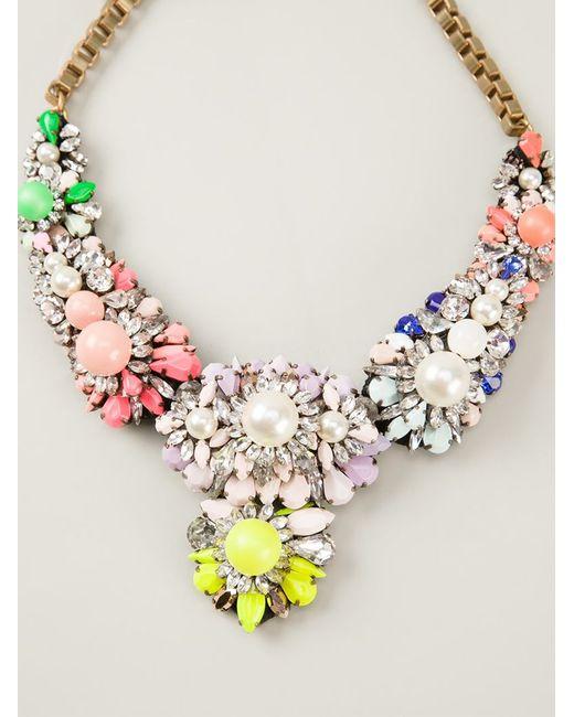 Shourouk | Multicolor Apolonia Necklace | Lyst
