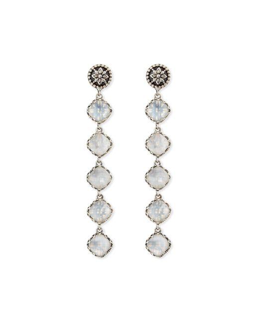Konstantino | Metallic Aura 5-stone Mother-of-pearl Drop Earrings | Lyst