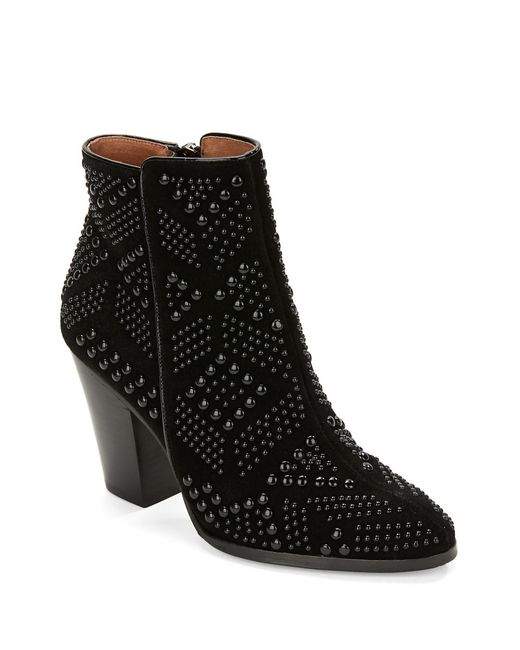 Donald J Pliner | Black Swift Suede Mid-calf Boots | Lyst