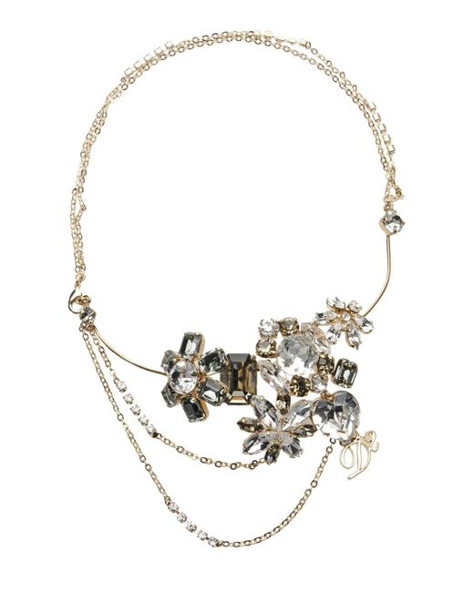 DSquared² | White Necklace | Lyst