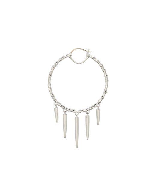 Stephen Webster | Metallic Verne Bone Hoop Earrings With Hanging Daggers | Lyst