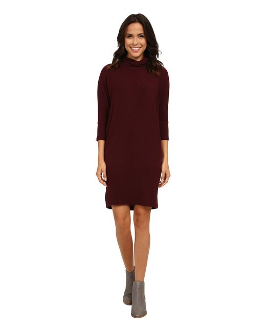 B Collection By Bobeau | Purple Cozy Dress | Lyst