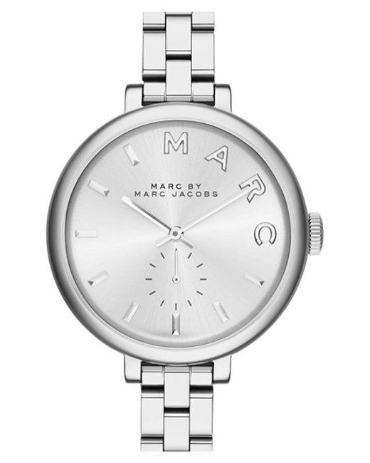 Marc Jacobs | Metallic 'sally' Round Bracelet Watch | Lyst