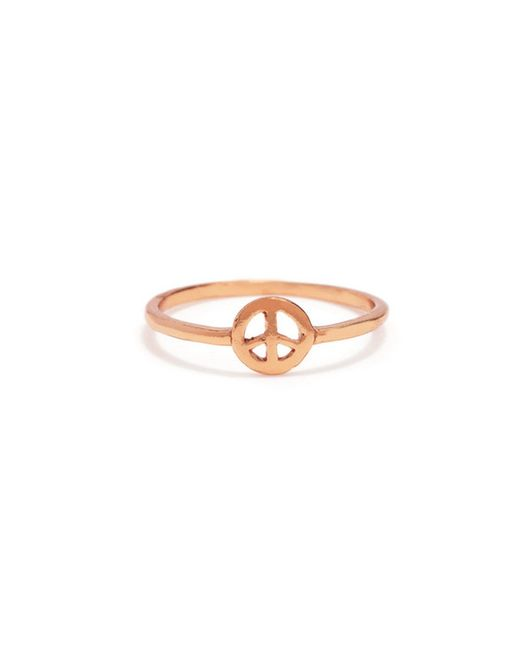 Bing Bang | Pink Little Peace Ring | Lyst