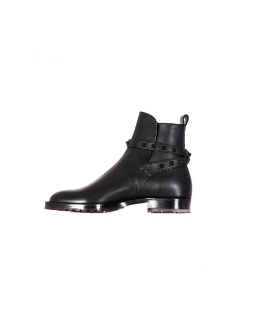 Valentino | Multicolor Rockstud Leather Chelsea Boot for Men | Lyst