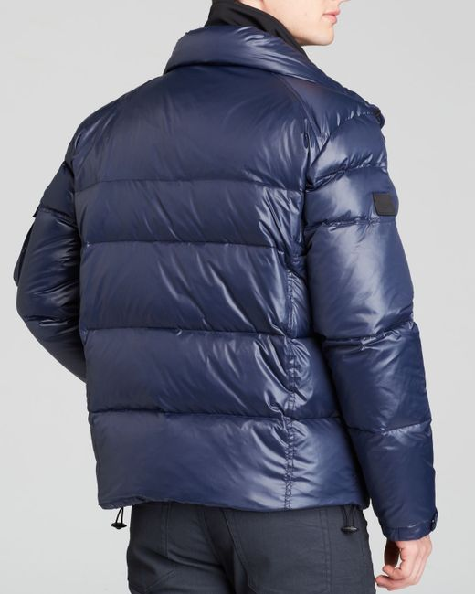 Sam.   Blue Mountain Fur-trimmed Quilted Puffer Jacket for Men   Lyst