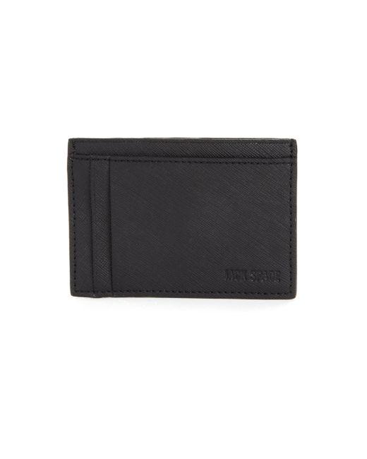 Jack Spade | Black Varick Leather Id Card Case for Men | Lyst