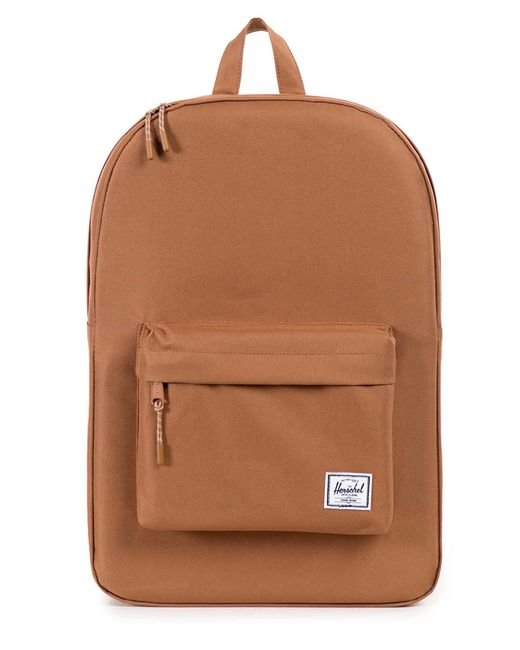 herschel supply co caramel classic backpack 22 l in beige for men camel save 41 lyst. Black Bedroom Furniture Sets. Home Design Ideas