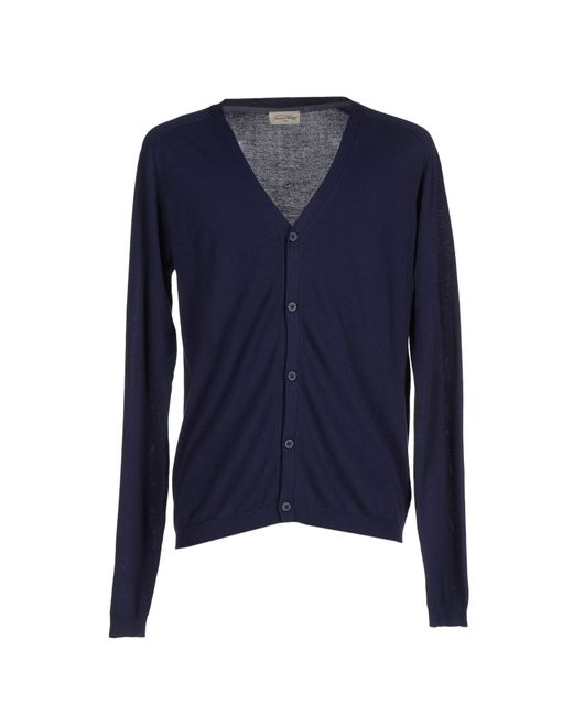 American Vintage | Blue Cardigan for Men | Lyst