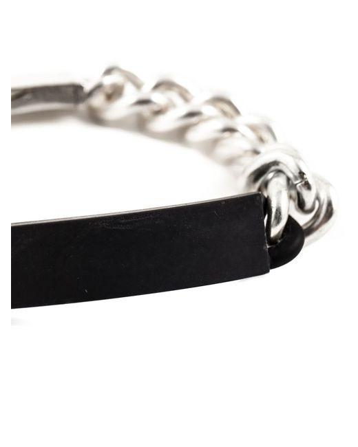 Maison Margiela | Metallic Plaque Chain Bracelet for Men | Lyst