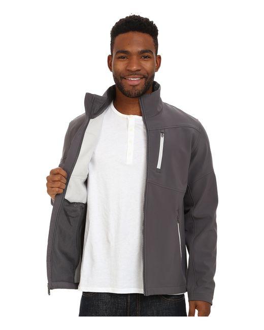 Spyder   Gray Fresh Air Soft Shell Jacket for Men   Lyst