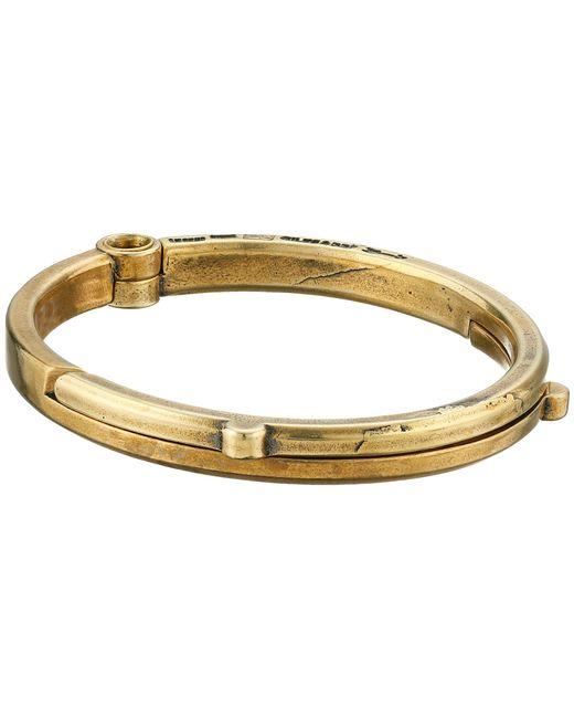 Giles & Brother   Metallic Latch Cuff Bracelet for Men   Lyst