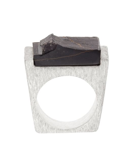 Pasionae | Metallic Lava Ring | Lyst