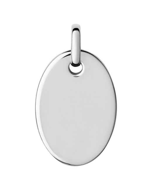 Links of London | Metallic Narrative Small Oval Disc Pendant | Lyst