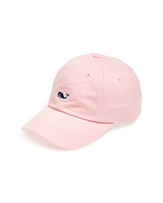 Vineyard Vines | Pink 'whale Logo' Cap for Men | Lyst