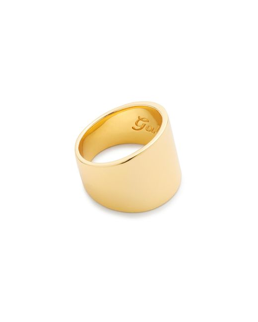 J.Crew | Metallic Gabriella Artigas 14k Gold Cigar Band Ring | Lyst
