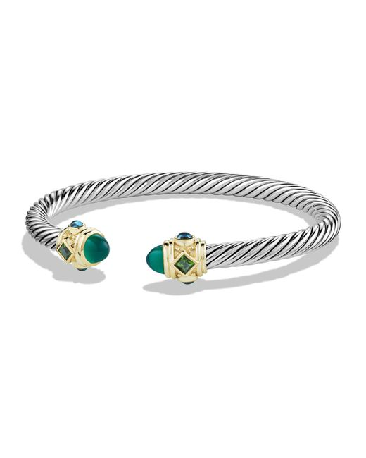 David Yurman | Green Chrome Diopside | Lyst