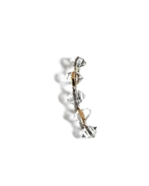 Melissa Joy Manning | Metallic Herkimer Diamond Ear Climber | Lyst