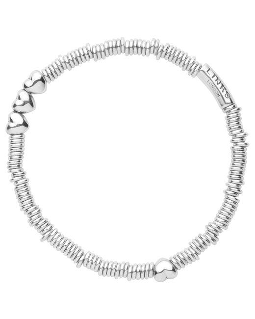 Links of London | Metallic Sweetie Heart Sterling Silver Bracelet | Lyst