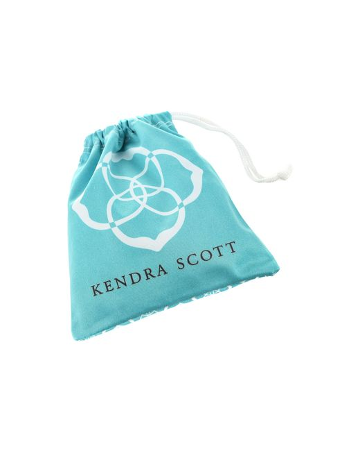 Kendra Scott | Orange Danielle Earrings | Lyst
