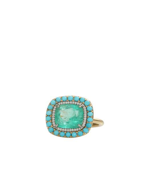 Irene Neuwirth   Green Colombian Emerald Ring   Lyst