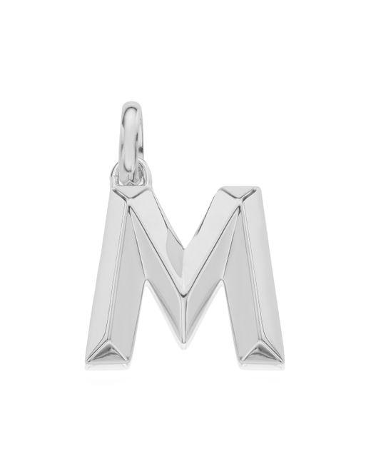 Monica Vinader   Metallic Alphabet Pendant M   Lyst