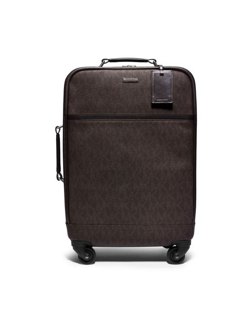 Michael Kors   Brown Jet Set Travel Logo Suitcase for Men   Lyst