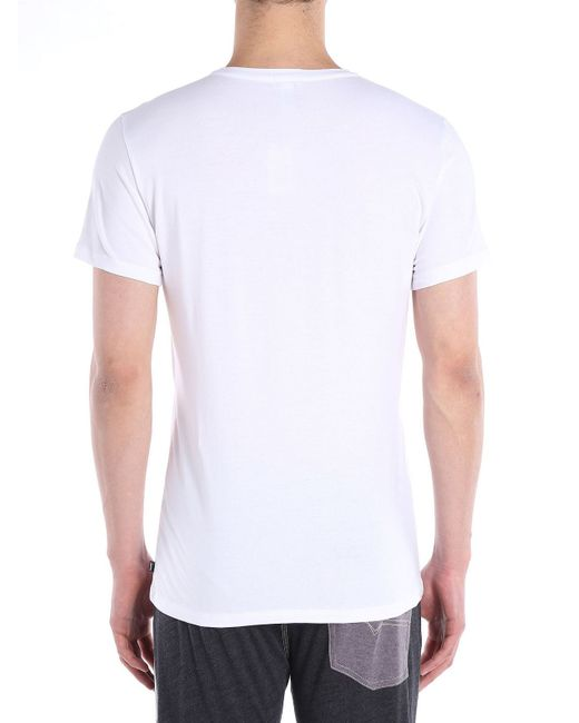 DIESEL | White Umtee-randal for Men | Lyst