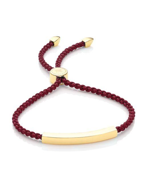 Monica Vinader | Purple Linear Friendship Bracelet | Lyst