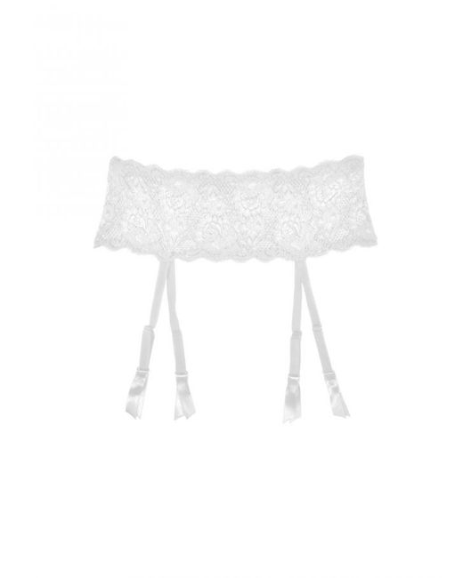 Cosabella | White Never Say Never™ Garter Belt | Lyst