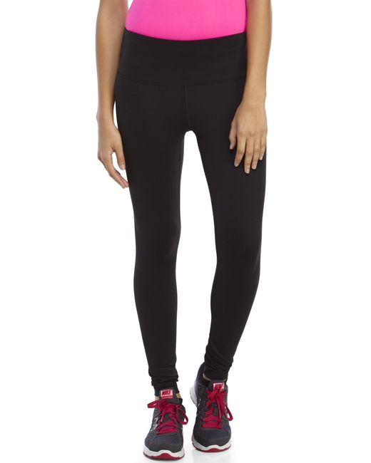 90 Degree By Reflex | Black High Waist Slimming Leggings | Lyst