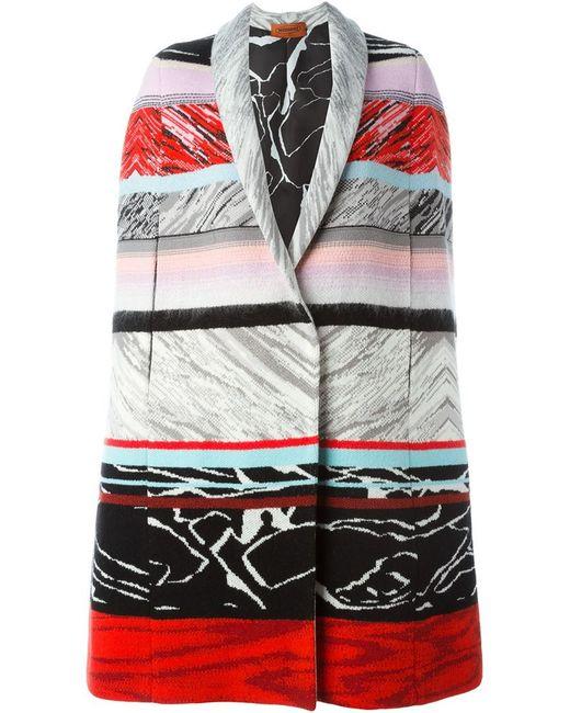 Missoni   Multicolor Wool Cape   Lyst