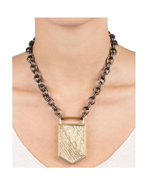 Kelly Wearstler | Metallic Glacial Necklace | Lyst